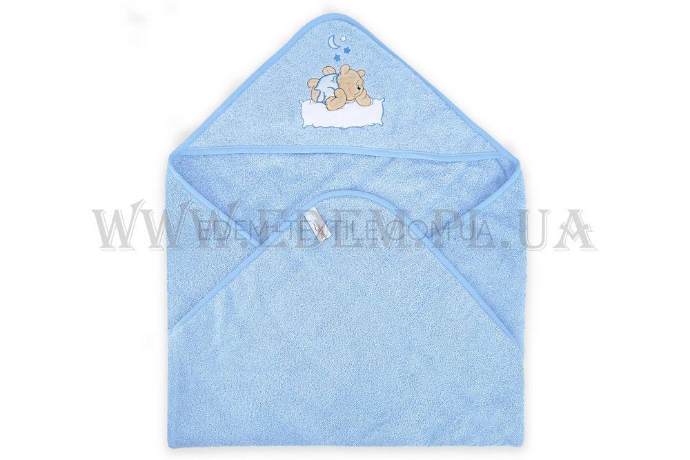 Куточок для купання HOME LINE 75х75 Ведмедик на подушці Блакитний ... 0bafbe3a83ecb