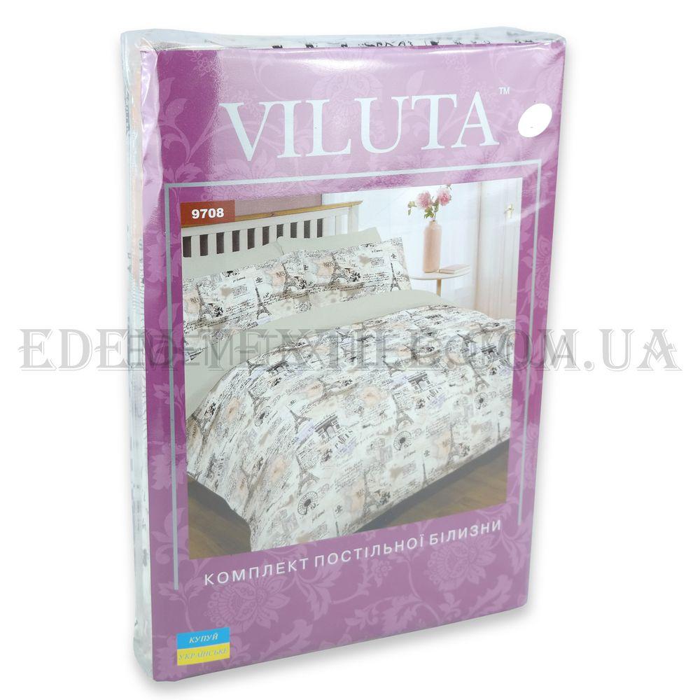 Постільна білизна Париж полуторна Платинум Viluta 9708 Сірий купити ... 2c670fd03be05