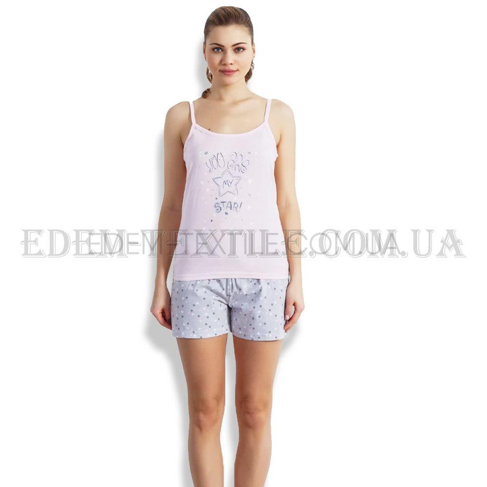 Пижама женская Шорты и Майка Vienetta 0375 Розовый Купить по Украине 0b31cce01c6aa