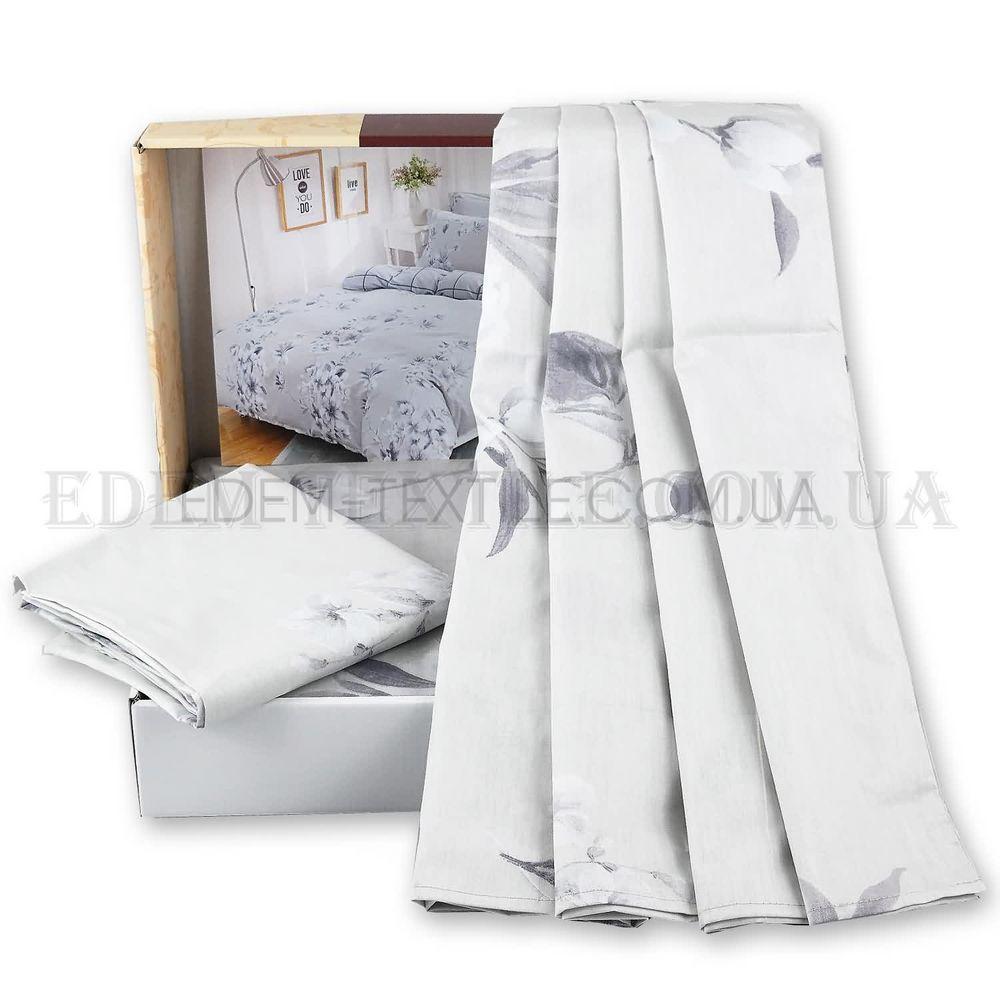 Постільна білизна з сатину Viluta 143х215 153 Світло-сірий купити по ... ed93734ed399e
