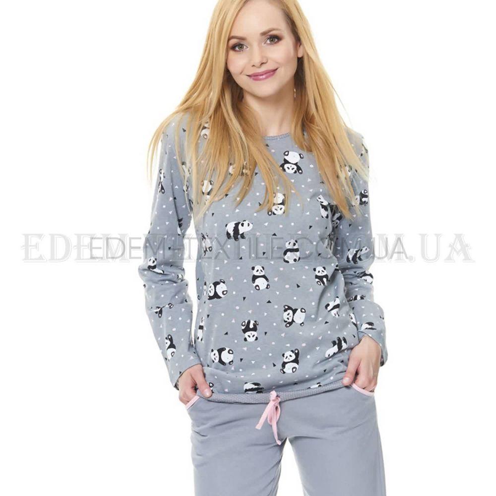 57266f97c77c Стильная женская пижама с пандами Dobranocka 9543 , S Купить в Украине