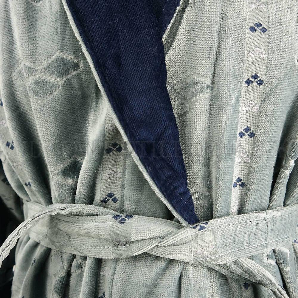f06ce98796abfc Халат чоловічий сірий Шаль May Yener Лапки , XL Купити в Україні