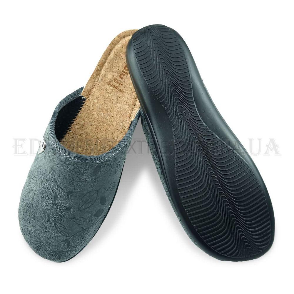 Жіночі тапочки з закритим носком Inblu NC-4X Сірий купити по Україні e3861721a1b2e