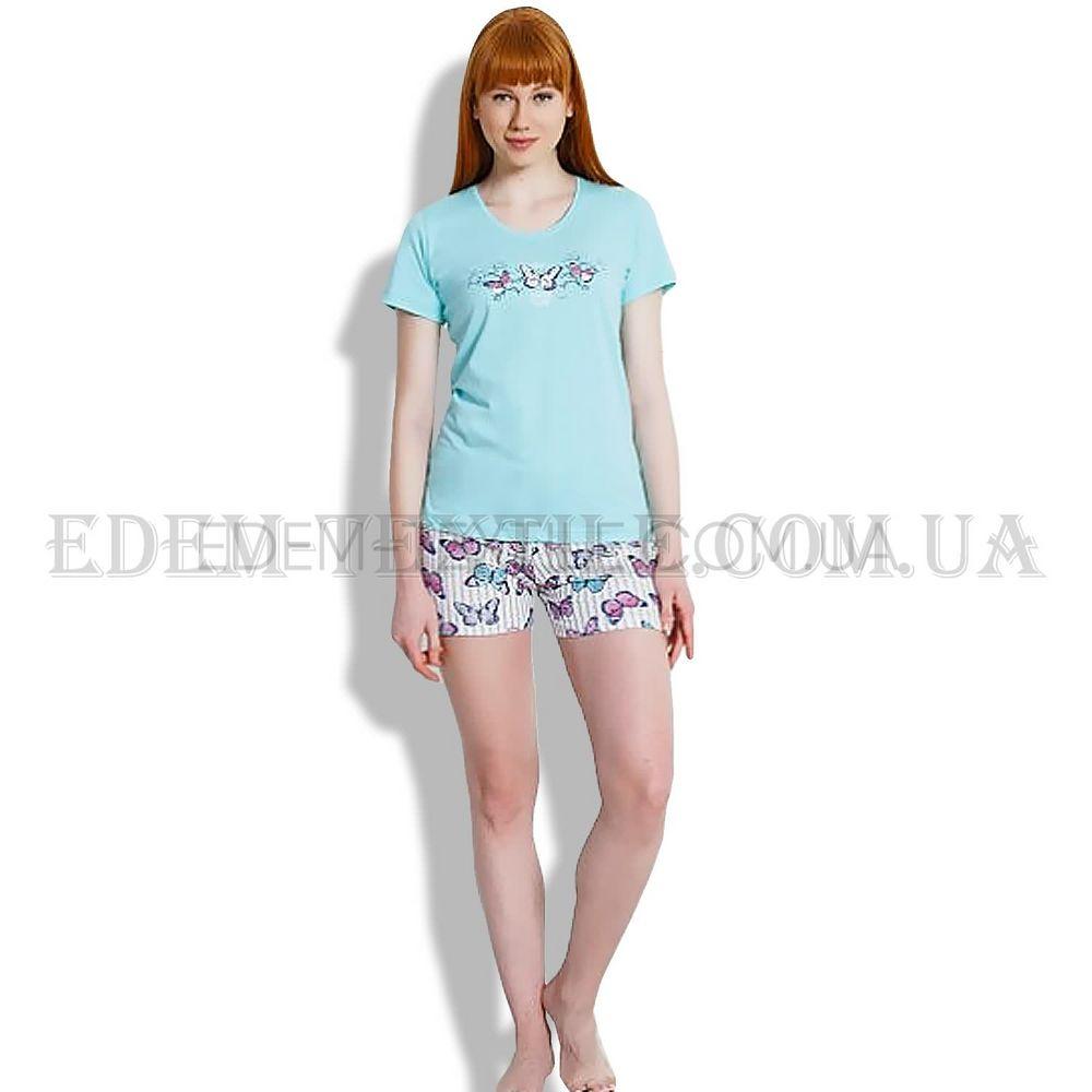 Пижама с шортами женская Vienetta 1144 Голубой Купить по Украине 1e7db051263b3