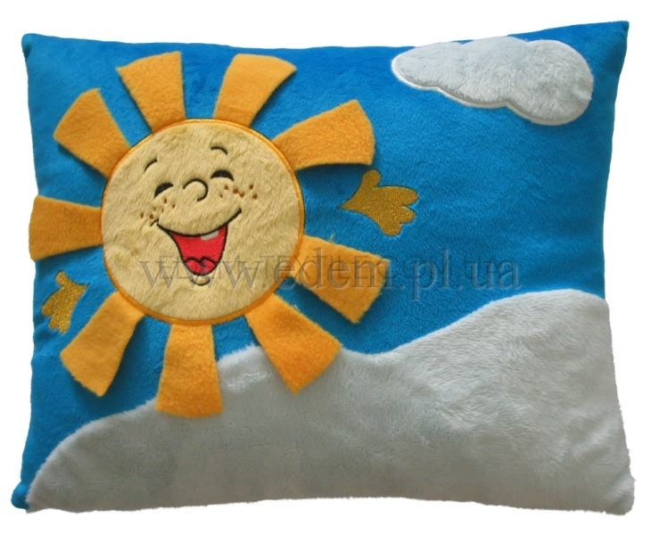 Подушка солнышко своими руками