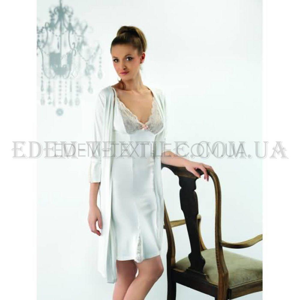 8ac5b26bff4d0 Халат женский трикотажный Vanilla 2211 Кремовый, Купить в Украине