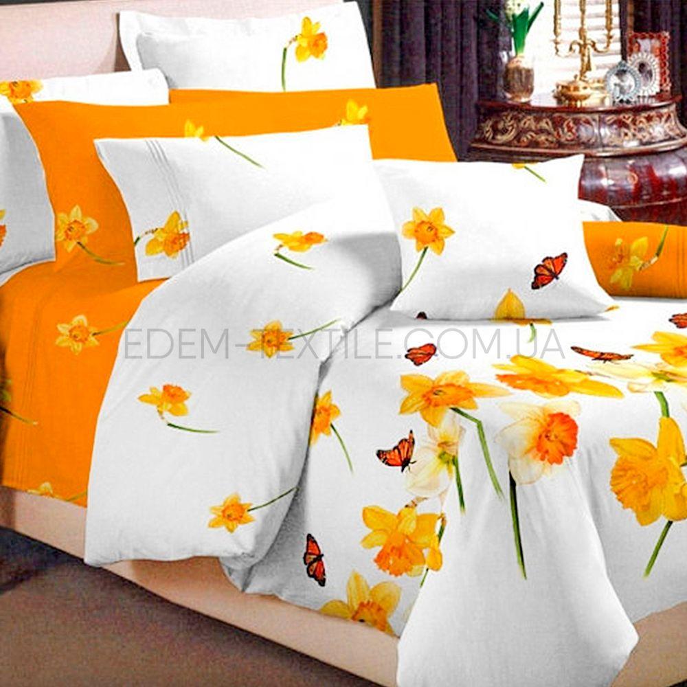 Постільна білизна Viluta 175х215 ранфорс Нарцис Білий купити по Україні 25ae549a071f1