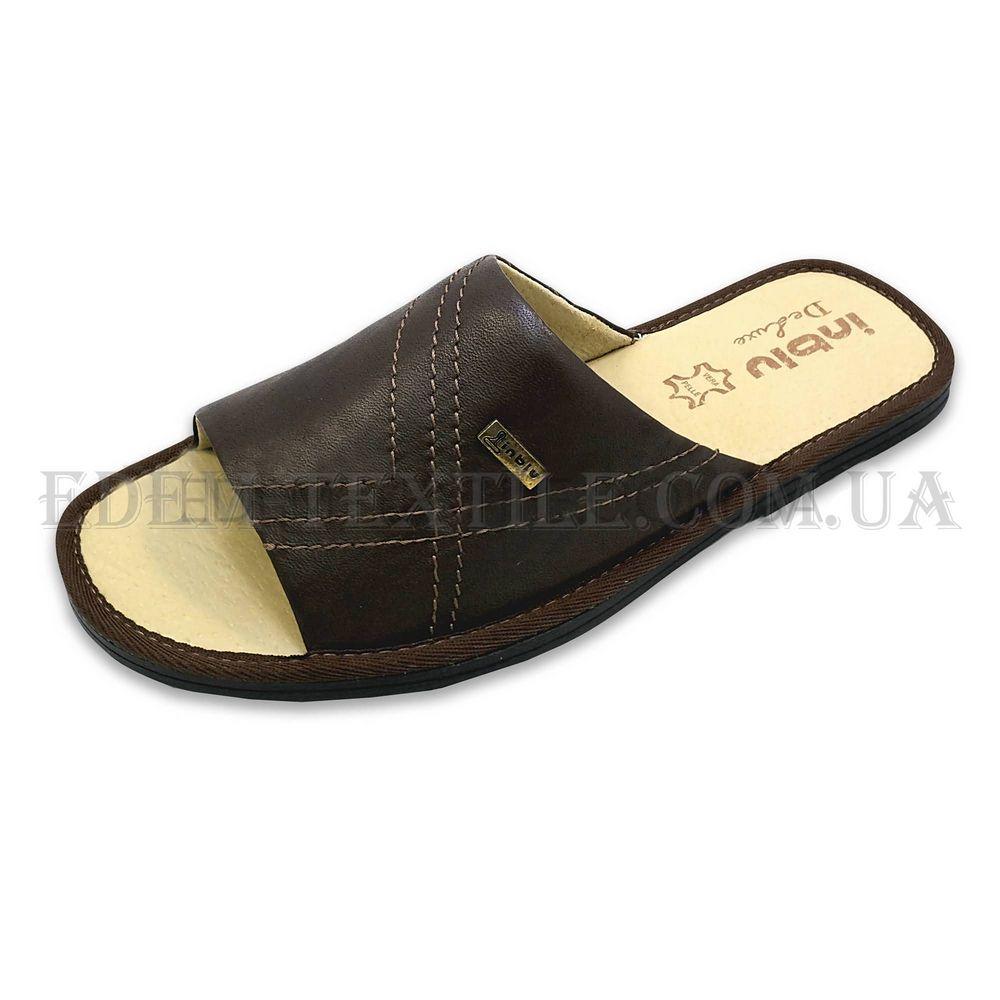 8948baf6943a1 Тапочки мужские Inblu TN-1L Коричневый, 40 Купить в Украине