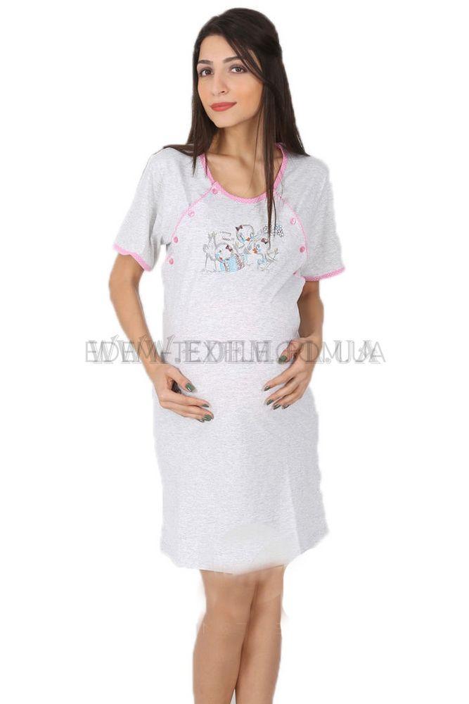 Сорочка жіноча для годуючих Vienetta Secret 0722 509041 adffc7856e8a5