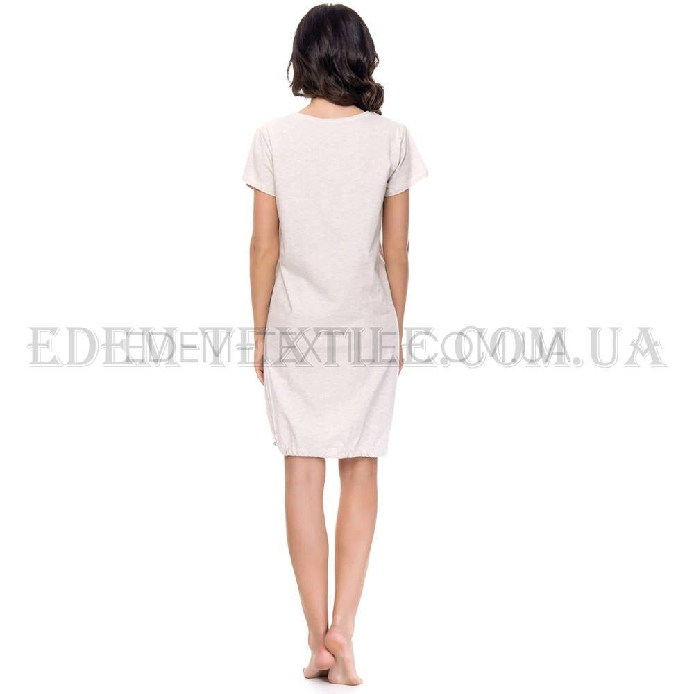 Сорочка жіноча Dobranocka 9081 Sweet grey fc31056f9f45e