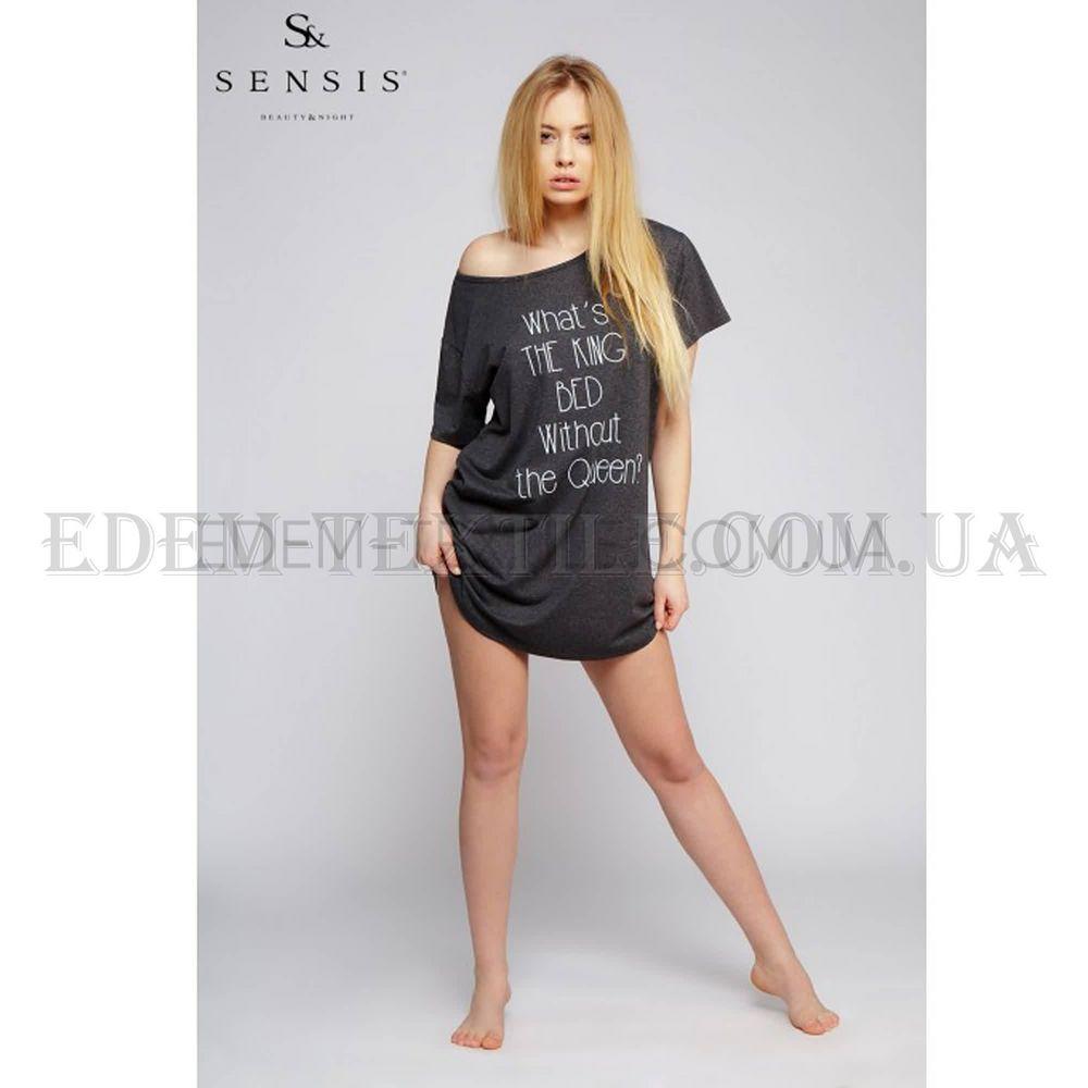 Туніка Sensis Oversize чорний Чорний купити по Україні 1864fe3351d33