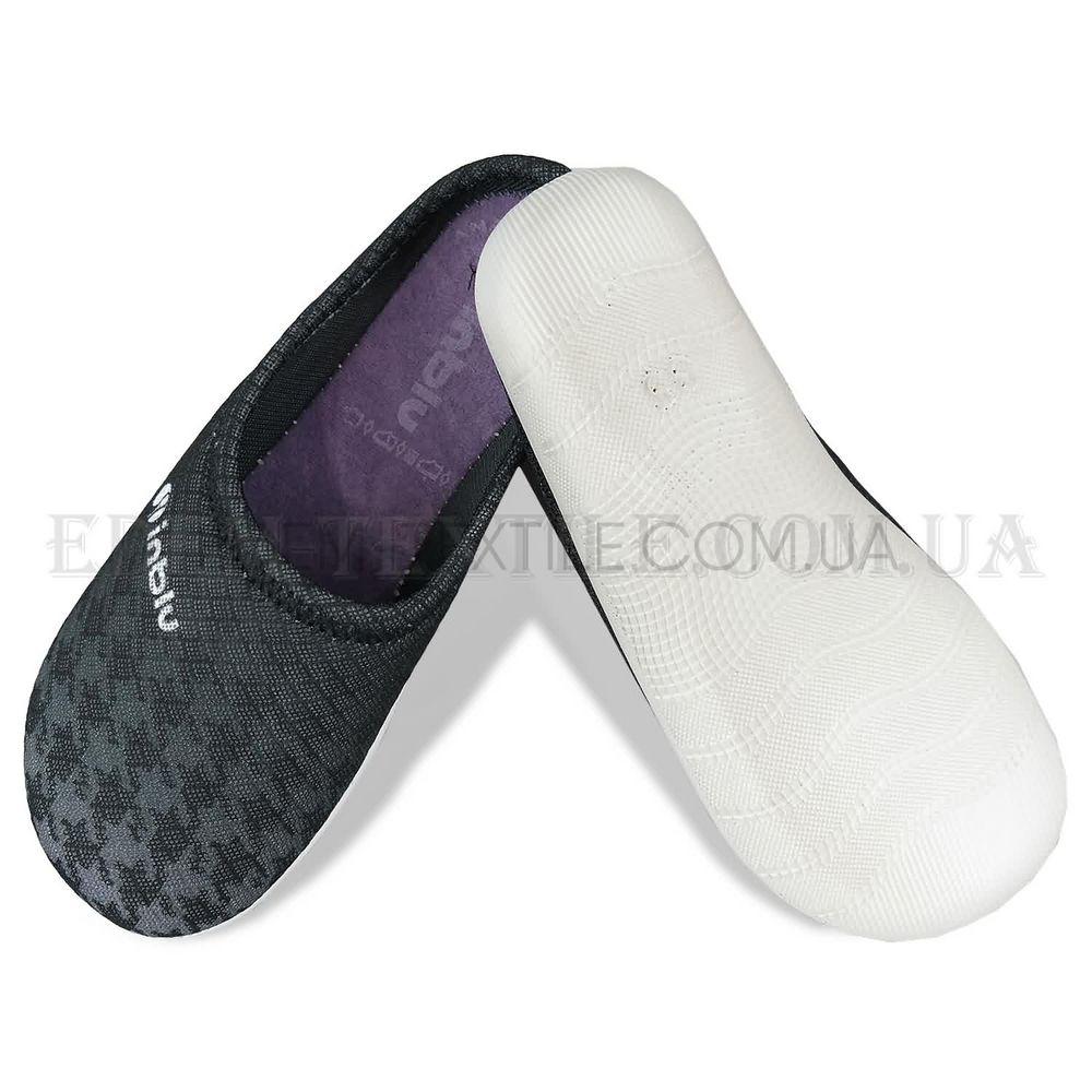 Жіночі тапочки для дому Inblu BS-30 темно-сірий купити по Україні e6bf6f32fa85f