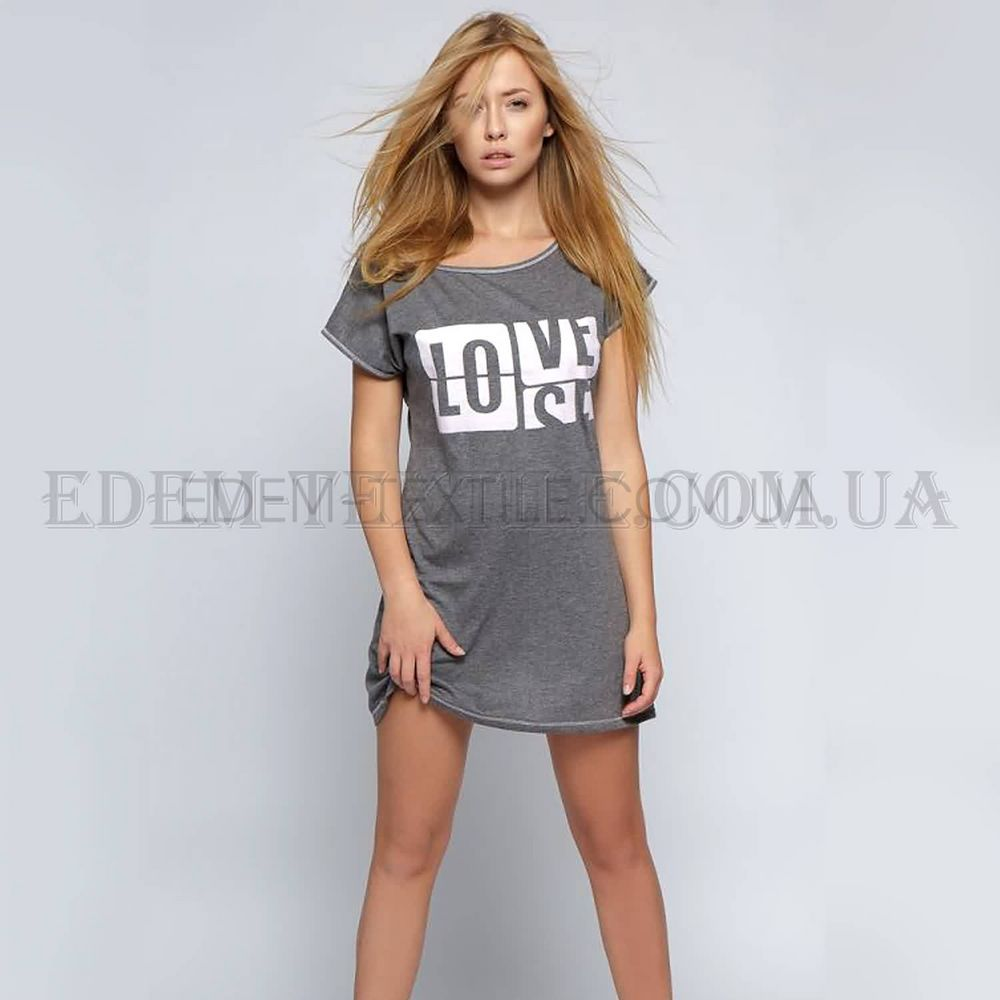 Туніка домашня Sensis Love-Sensis Сірий купити по Україні 0927771c16a68