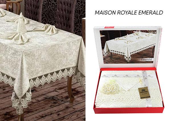 скатерть Maison Royale Emerald  - фото