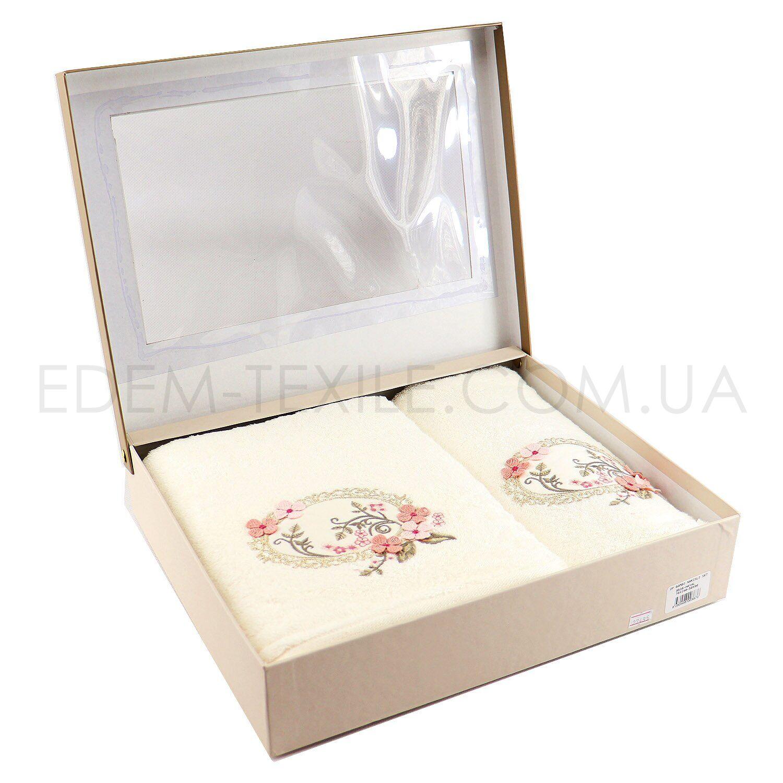 Подарочный Набор полотенец в коробке Pupilla Bamboo 9536 Hayal – Фото