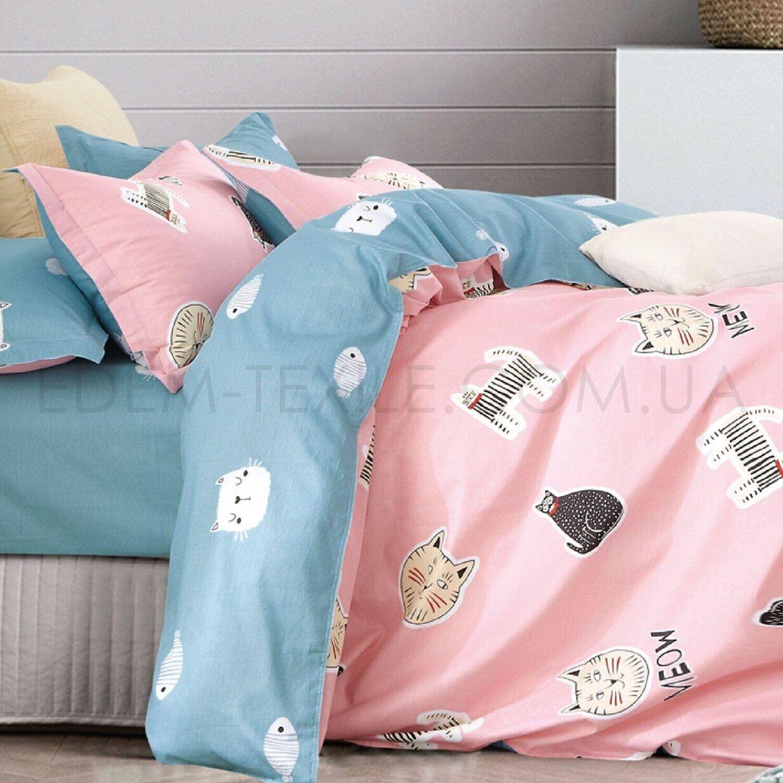 Детская постель в кроватку Котики 383 Viluta – Фото