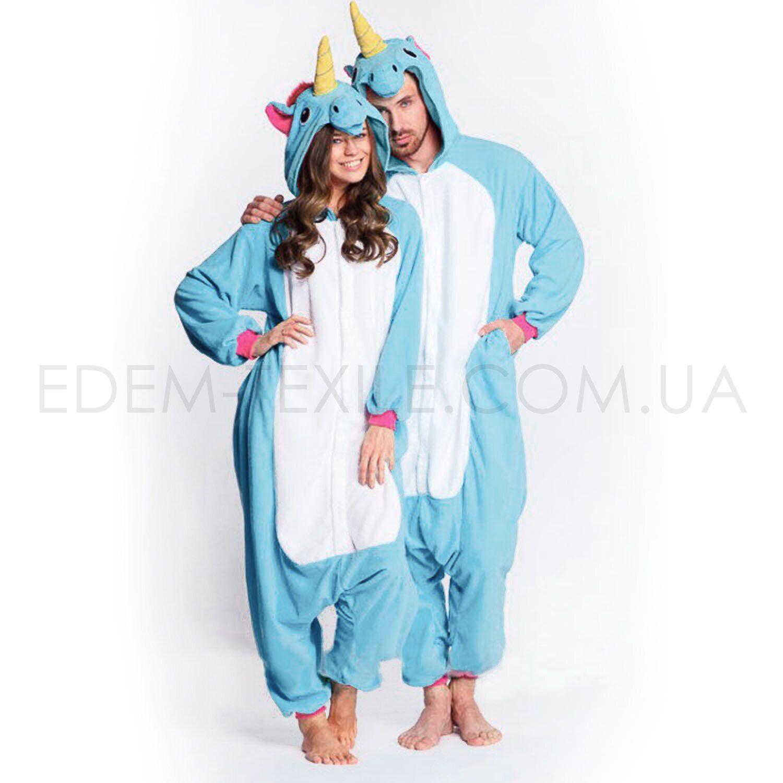 Кигуруми Голубой Единорог – Фото
