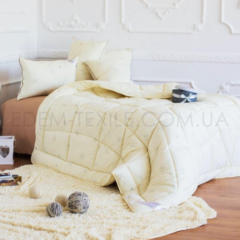 Одеяло Идея Wool Classic Кремовое – Фото 1