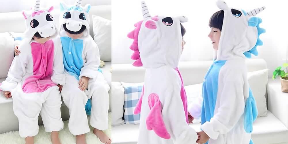 Детский костюм Кигуруми Единорог e006774adb5d3