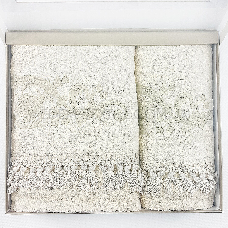 Изысканный набор полотенец Pupilla Penye Cappy 9514 Фото