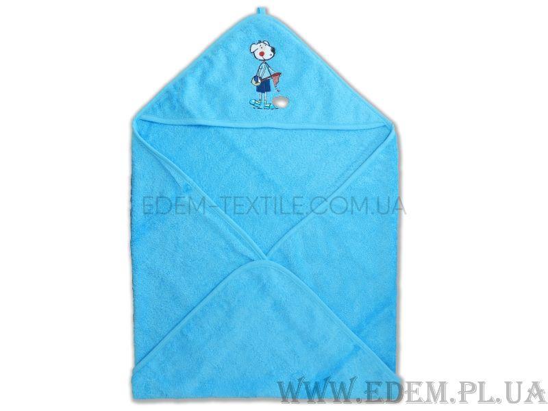 Куточок для купання Carre Blank 78х78 ПЕСИК блакитний Блакитний ... e174f4ca0eac3