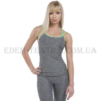 Майка спортивная Berserk Athletic Grey Melange, Серый