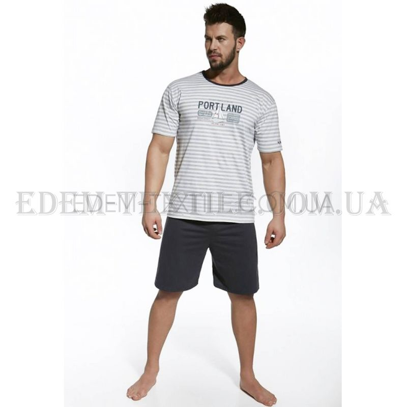 Піжама чоловіча Cornette Portland Сірий купити по Україні 89162f4656525